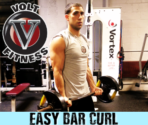 Easy Bar Curl