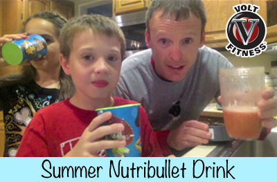 Summer Nutribullet Drink