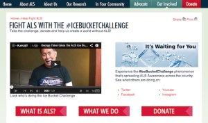 George Takei takes the ALS Ice Bucket Challenge