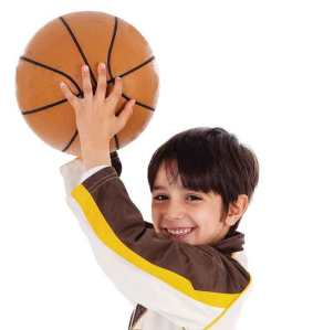 Child with Basketball